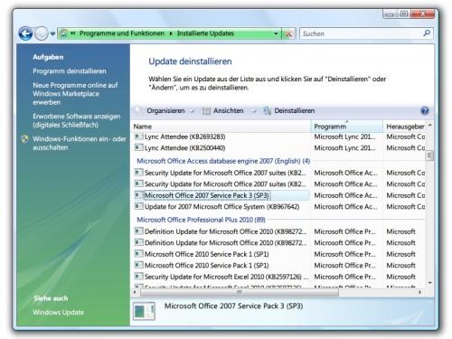 vista-installierte-updates-anzeigen
