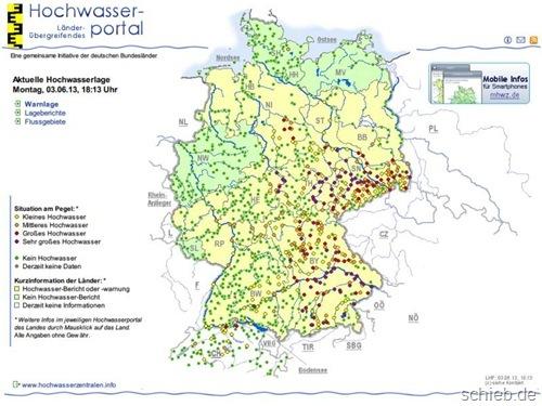 Hochwasser In Deutschland Hier Finden Sie Aktuelle Infos Im Netz