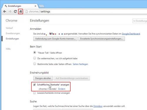 google-chrome-schaltflaeche-startseite-anzeigen