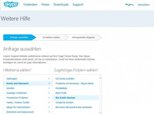 skype-support-konto-loeschen