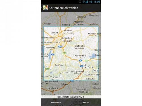 android-google-maps-offline-bereitstellen