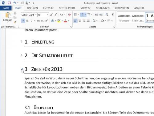 word-ueberschriften-auf-zuklappen