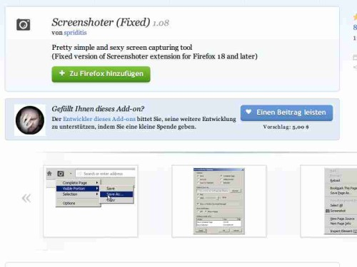 firefox-addon-screenshotter