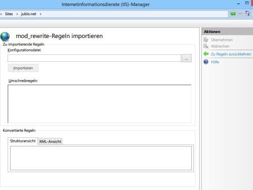 iis-url-rewrite-htaccess-importieren