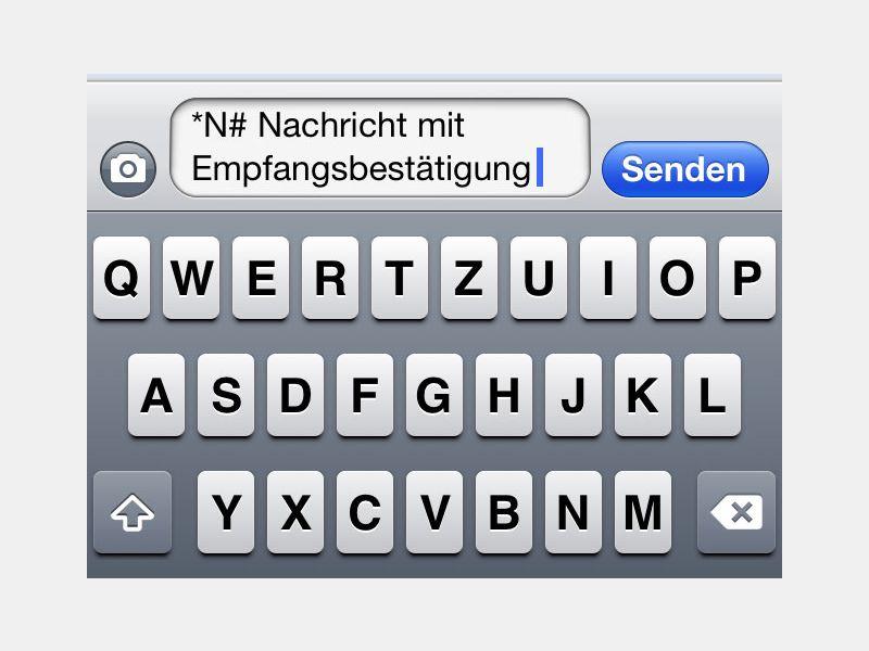 iPhone: Lesebestätigung für gesendete SMS-Nachrichten