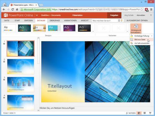 powerpoint-online-hintergrund