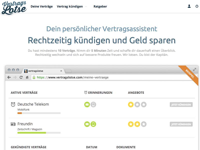 Vertrags-Lotse: Verträge rechtzeitig kündigen | schieb.de