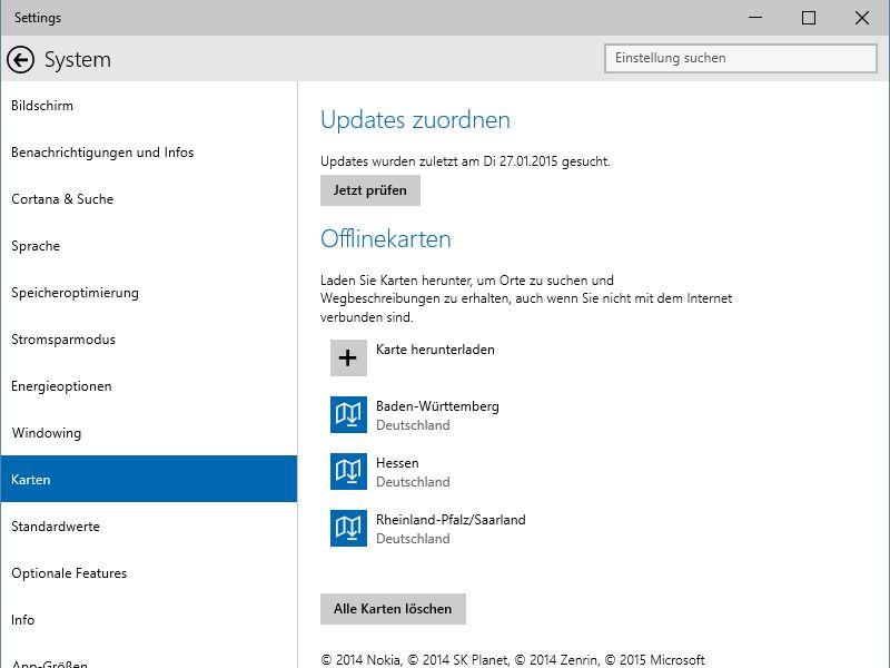Windows 10 Strassen Karten Offline Auf Dem Pc Speichern Schieb De