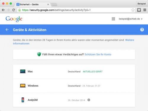 google-dashboard-geraete