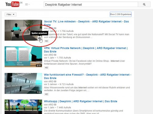 youtube-spaeter-ansehen