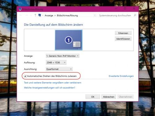 windows-desktop-ausrichtung-nicht-drehen