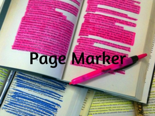 page-marker