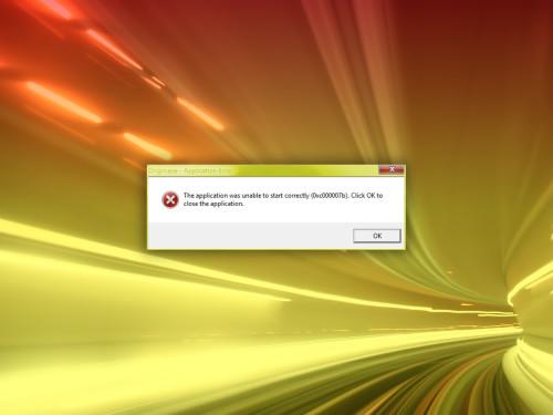 0xc000007b Fehler Beheben Download Internet