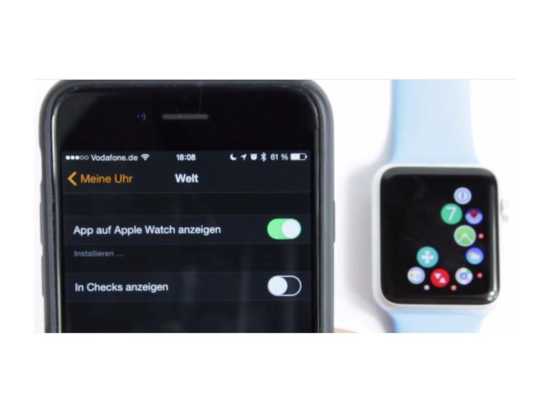 Apps auf der Apple Watch installieren   schieb.de