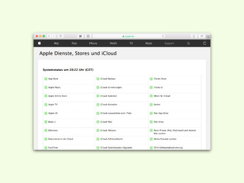 apple-webdienste-status