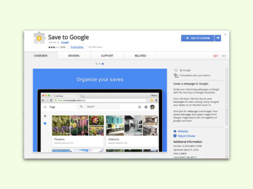 chrome-erweiterung-save-to-google