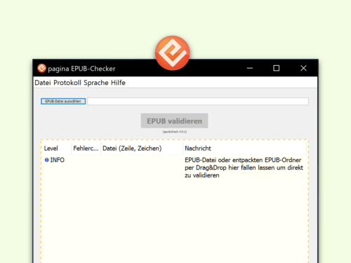 Pagina Epub Checker