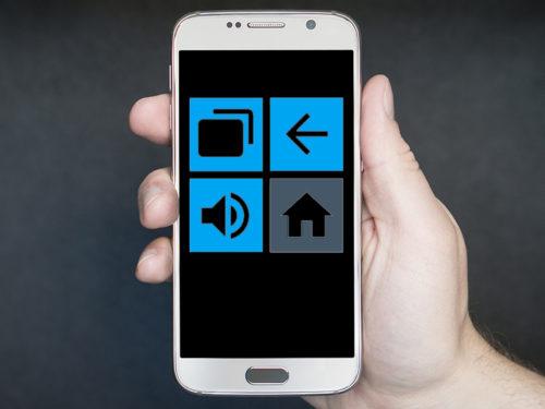 Tasten belegen android phones