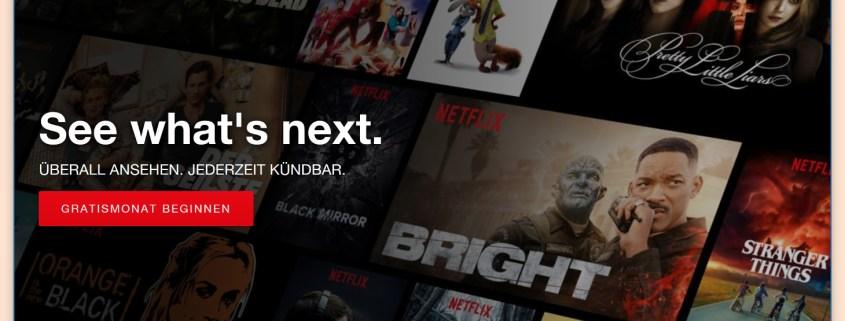 Netflix Fehler