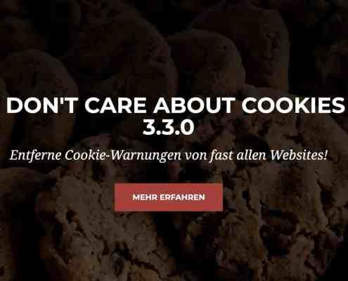 Erweiterung macht Schluss mit Cookie Bannern
