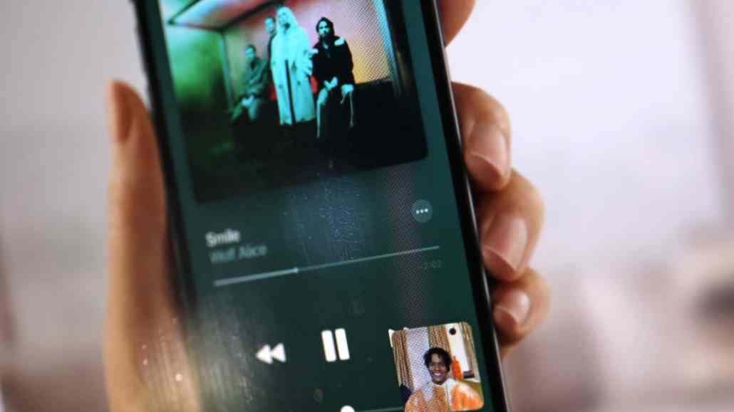 iOS Musik hören