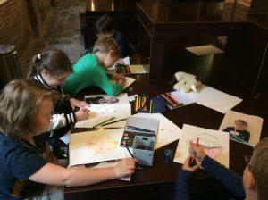 Gratis proefles van de Kunstklas voor volwassenen en kinderen op 29 augustus.