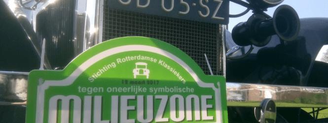 PROTESTRIT TEGEN MILIEUZONE NAAR HOEK VAN HOLLAND