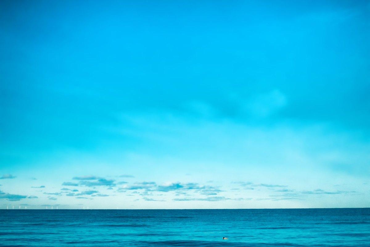 Zingst, blau. Foto: Hufner