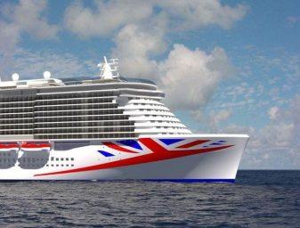 P&O Cruises Neubau von der Meyer Werft Papenburg - Auslieferung 2020 / P&O Cruises
