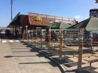 Glas plaatsen McDonald's Veenendaal