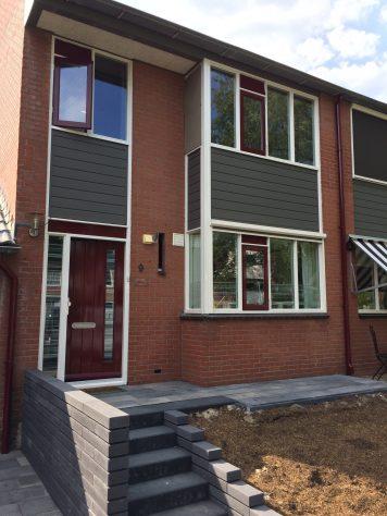 Buitenschilderwerk woning De Wimpel te Veenendaal
