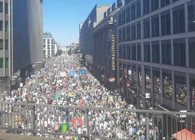 Proteste gegen die Tyrannei