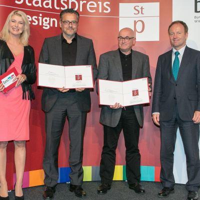 """Staatspreis Design 2015 - Verleihung des Staatspreis Design in der Kategorie """"Produktgestaltung   Industrial Design – Investitionsgüter"""""""