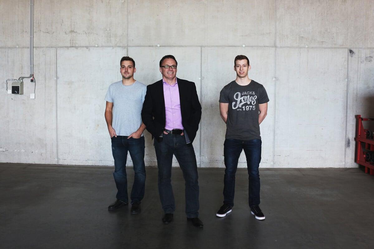 Schinko-Team-Export - Michael Schober, Hannes Pramberger, Patrick Stummer