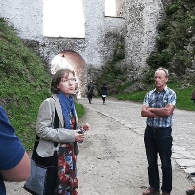 - Schinko Betriebsausflug: Führung durch die Altstadt und der Besuch des Schlosses in Budweis.