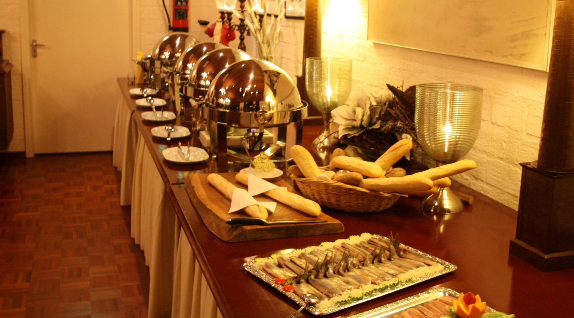 Koud- en warm buffet