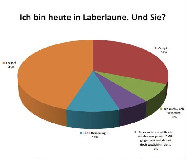 Aktuelle Umfrage: Laberlaune