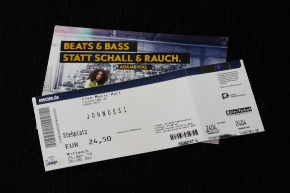 Johnossi Tickets, Köln 2013