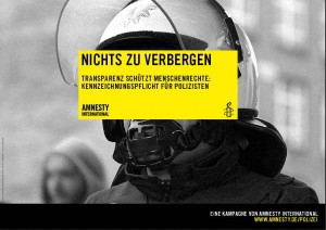 Amnesty International - Polizei Kampagne