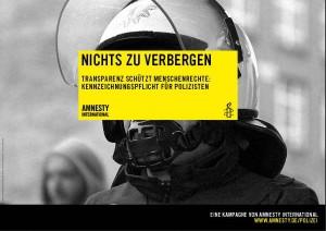 Amnesty International - Polizei Kampagne