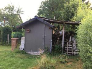 Hütte vorher