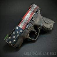 American flag battleworn cerakote