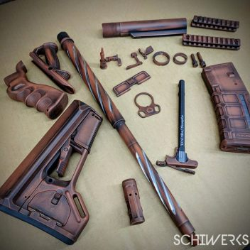 worn copper cerakote