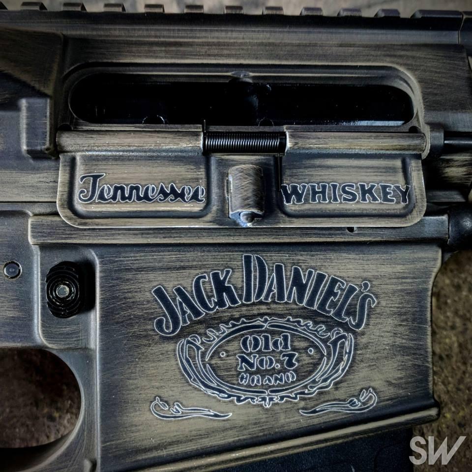 jack daniels gun