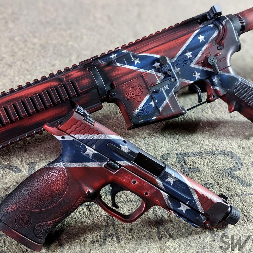 confederate flag set