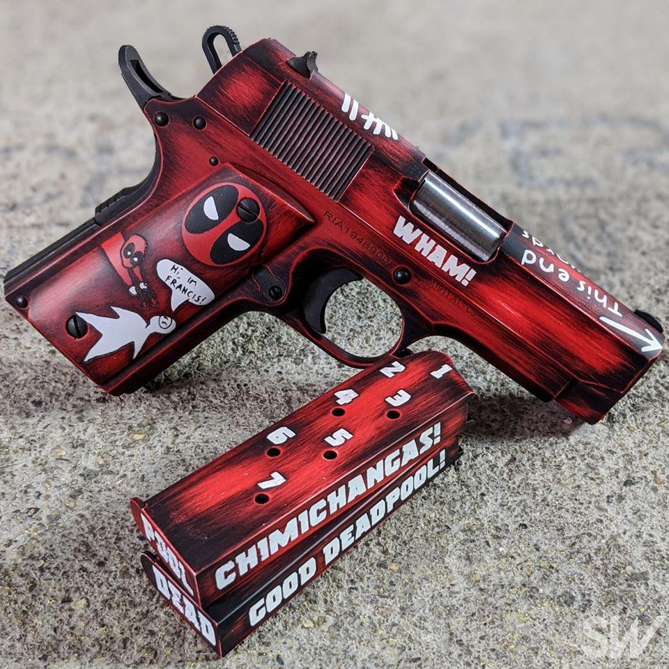 deadpool gun cerakote