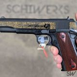 gold engraved 1911