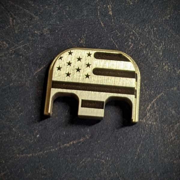 American flag Glock backplates
