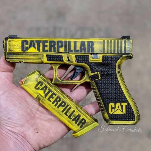 caterpillar glock stipple cerakote