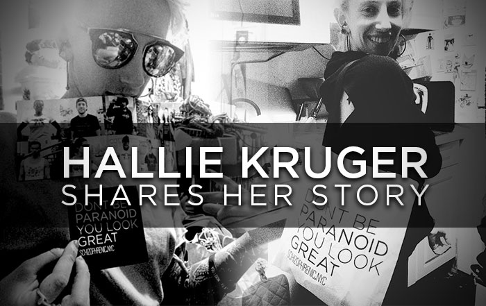 Schizophrenic. Nyc's hallie kruger, shares her story